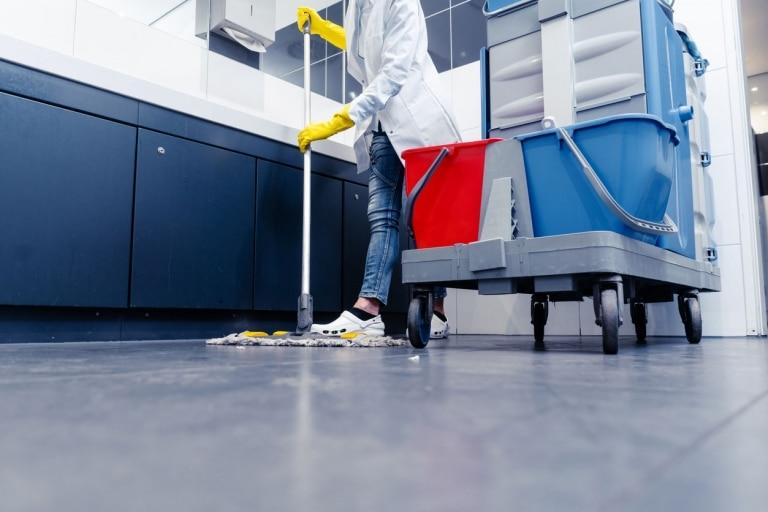 Bau-Endreinigung – Reinigung nach Umzug