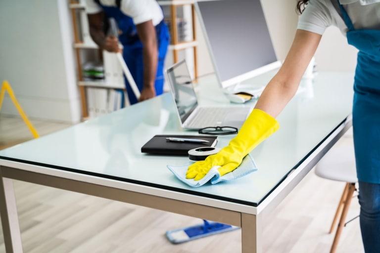 Unterhaltsreinigung – Basis-Reinigungsprogramm